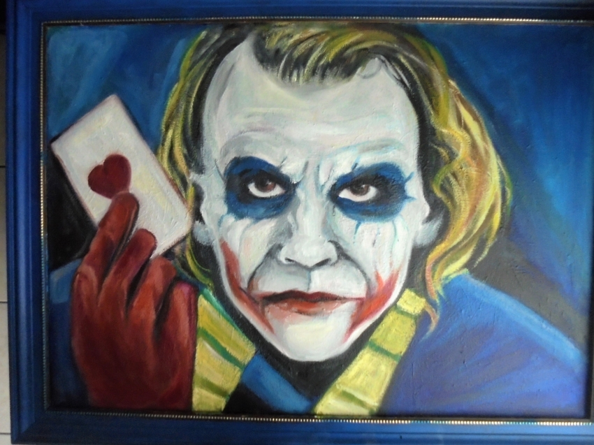 Heath Ledger by ferrokaro